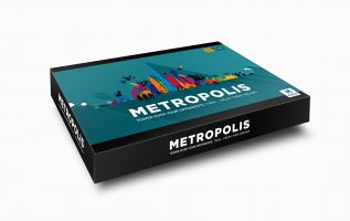 METROPOLIS – THE BOARD GAME THAT'S SET TO TAKE THE WORLD BY STORM. 3