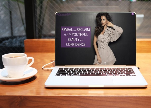 """Lake Norman Aesthetics – Laser Center and Med Spa launches a rejuvenated """"Modern, Edgy, Fierce"""" website in conjunction with the addition of new health, beauty and aesthetics services. 16"""