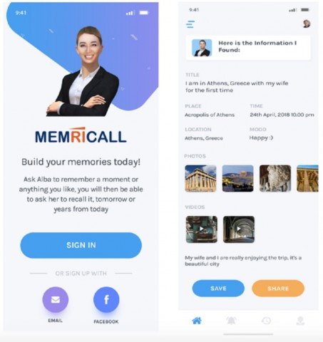 FIRST Memory Recall App to be launched on Kickstarter