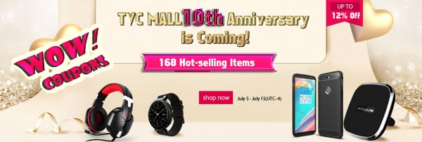 TVC Mall Announced Discounts on Selected Hot-Selling Products to Celebrate 10th Anniversary