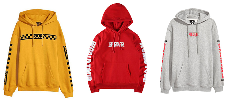 Shenzhen MiBaoSpace Technology Co.,Ltd Offers Various Clothing Inspired By Justin Bieber To Customers Around The World