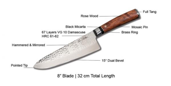 Vie Belles launches new luxury knife series on Kickstarter