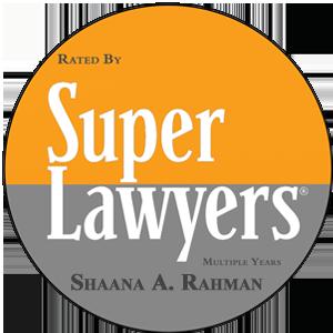 San Francisco Personal Injury Attorney Shaana Rahman Named a 2018 Northern California Super Lawyer