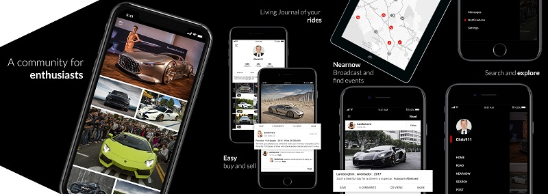 historide, A Vehicle Social Network App Has Been Updated With Innovative Features!