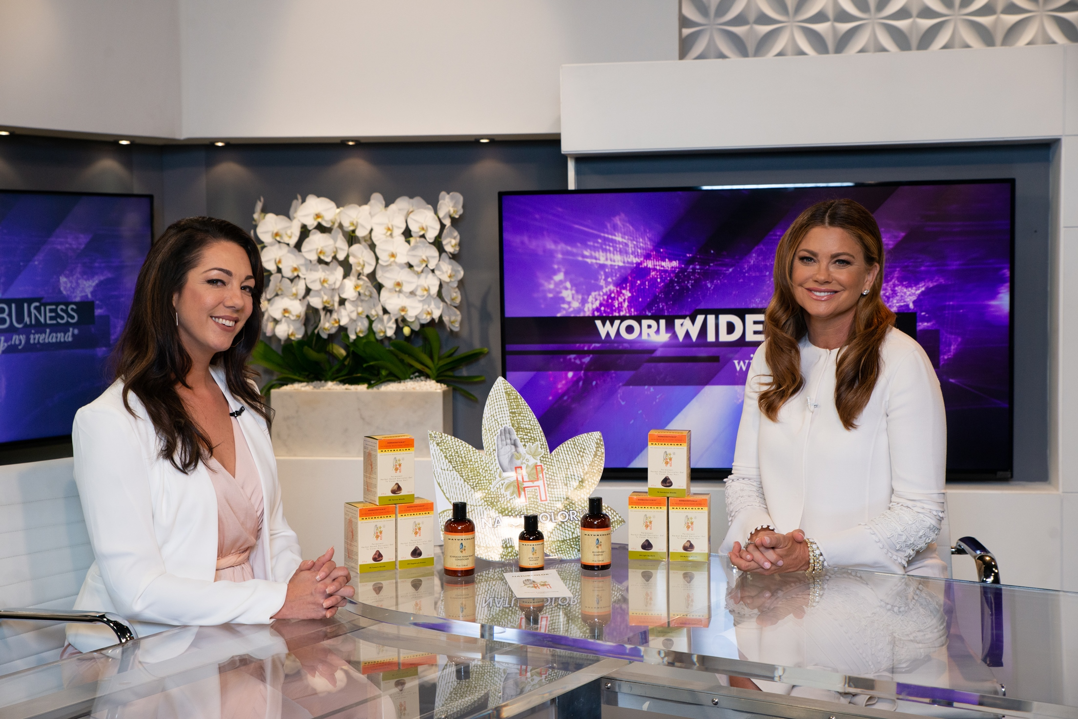 Worldwide Business with kathy ireland®: See NaturColor Introduce Their Innovative, Ecological, Herbal-Based Hair Colors 2