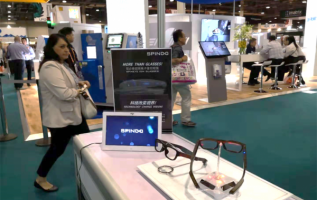 Black Tech Medical Eyeglasses Appear at Vision EXPO 2