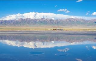 "The ""Salt"" Mirror Reveals the Chaka Saline Lake in the Lens 5"