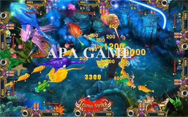 APA Game Announces Trump Fishing Game Machine That Could Be A New & an Exciting Fishing Game For Video Gamers Across The Globe 1