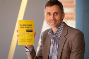 """Canadian Happiness Entrepreneur And Author John Tukums Hits Three Amazon Best Seller Lists With His First Book """"Sustaining Happiness: Building Workplace High Performance Capacity"""" 2"""