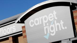 Carpetright losses widen as sales fall 6