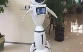 German LIECTROUX Library Staff Robot Enables Artificial Intelligence To Enter Into Libraries 4