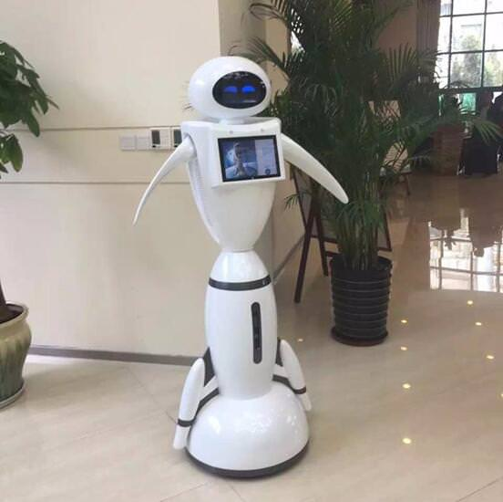 German LIECTROUX Library Staff Robot Enables Artificial Intelligence To Enter Into Libraries 1