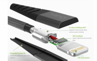 A New iPhone Cable That Does Not Break Has Been Launched By Gulex 3