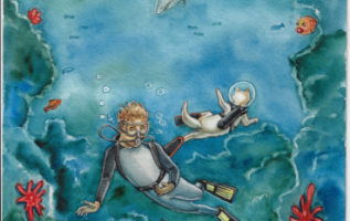 "World Traveler Jimmy Strain Shares His Wealth of Experience In ""Scuba Jim and the Mermaid"" 6"