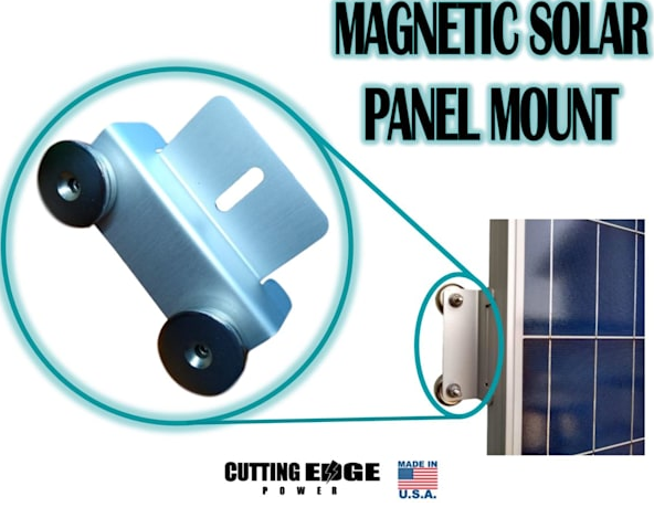 Cutting Edge Power Inc. Announces Major Improvements to their Magnetic Solar Panel Mount System 15