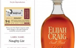 "Elijah Craig Introduces a 10 Year Single Barrel the ""Naughty List"" Limited Release to its extensive award-winning portfolio 4"