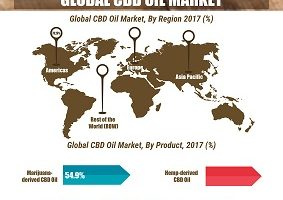 Cannabidiol (CBD) Oil Market Synopsis by Drivers, Dynamics, Top Vendors, Product, Distribution and Region – Global Forecast till 2023 3