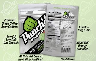 Punch'd Energy is now offered Nationwide Through Mr. Checkout's Direct Store Delivery Distributors. 4