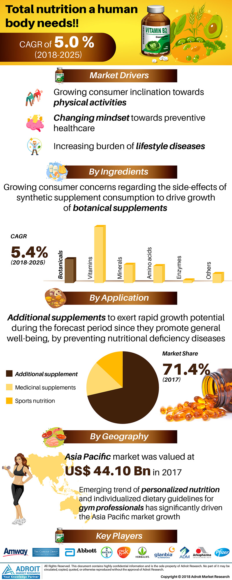 Dietary Supplements Market Overview by Probiotic Ingredients, Healthy Product Design, Consumer Demand, Top Manufacturers, Regional Competitive landscape & Excellent Market Opportunities by 2025 1