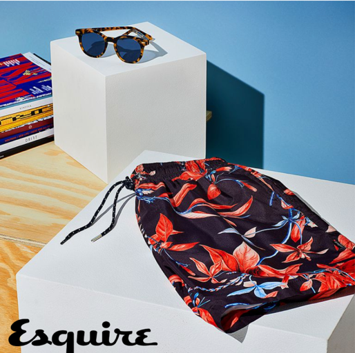 Devereux Amalfi Swim Trunks Recommended by Esquire Magazine 1