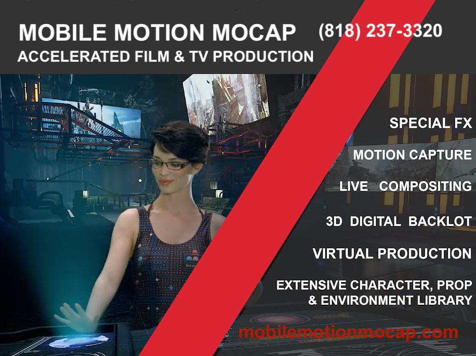 Producer Dan Harris Joins Mobile Motion Mocap State-of-the-Art Virtual Production Studio in Burbank 1