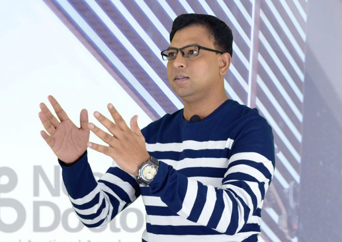 The Global President & CEO of NeoDocto Inc. – Mr. Madhukar Sanneerappa introduces NeoDocto chat support services with the expansion of its presence in Tallinn, Estonia 10