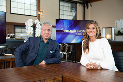 Javvy Technologies Founder Brandon Elliott Interviewed on Worldwide Business with kathy ireland® 1
