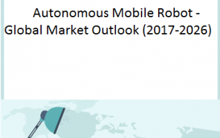 Global Autonomous Mobile Robot Market is grow at a CAGR of 12.9% and expected to reach USD 14.79 Million by 2026 from USD 4.98 Million in 2017 1