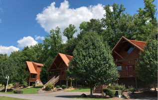 Global Connections announces new cabins finished at White Oak Lodge and Resort 3