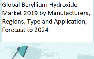 Global Beryllium Hydroxide is expected to grow at a CAGR of 1.0% and will reach USD 390 Million in 2024, from USD 370 Million in 2019 2