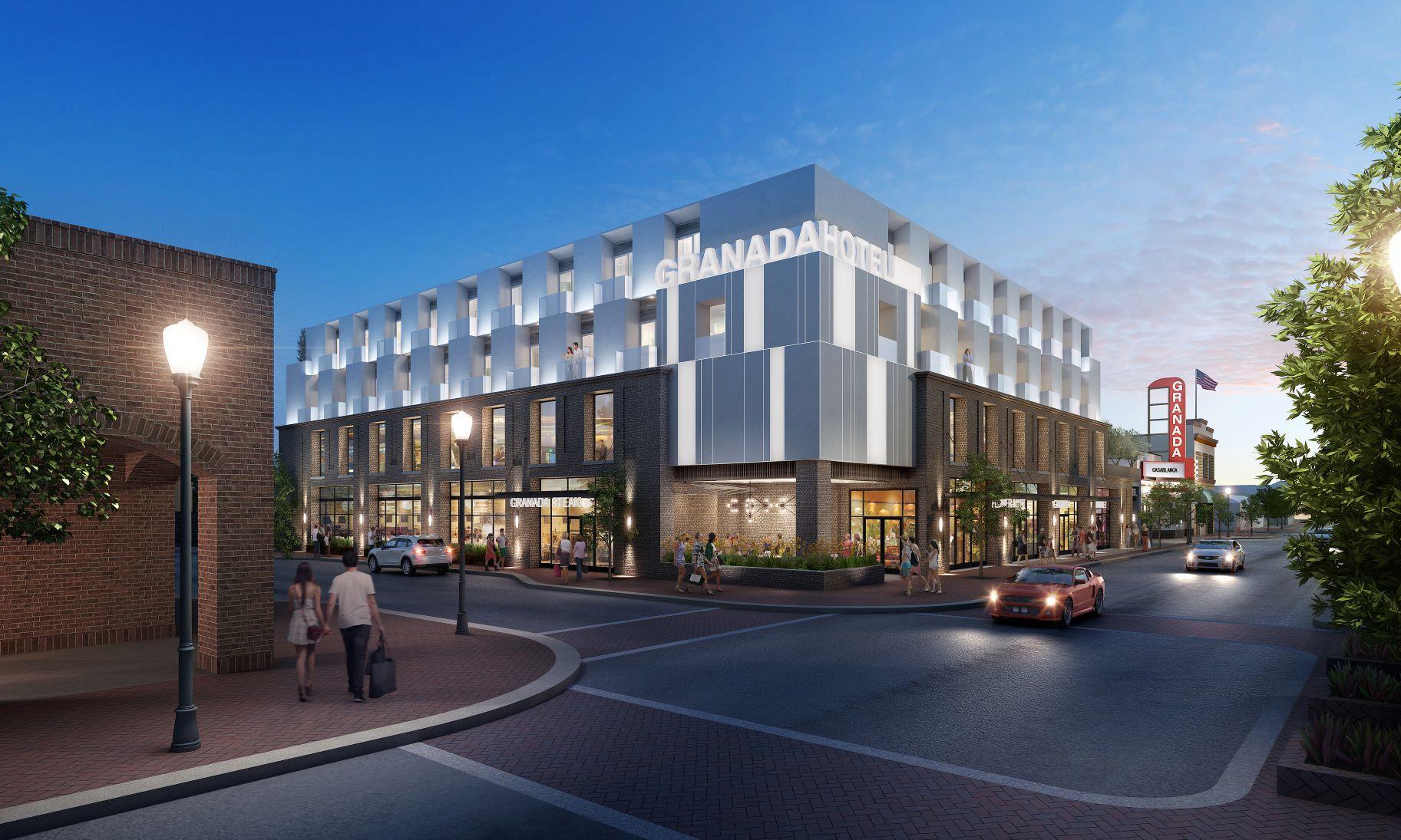 KTGY-Designed Granada Hotel & Spa Commences Construction in Downtown Morgan Hill 1