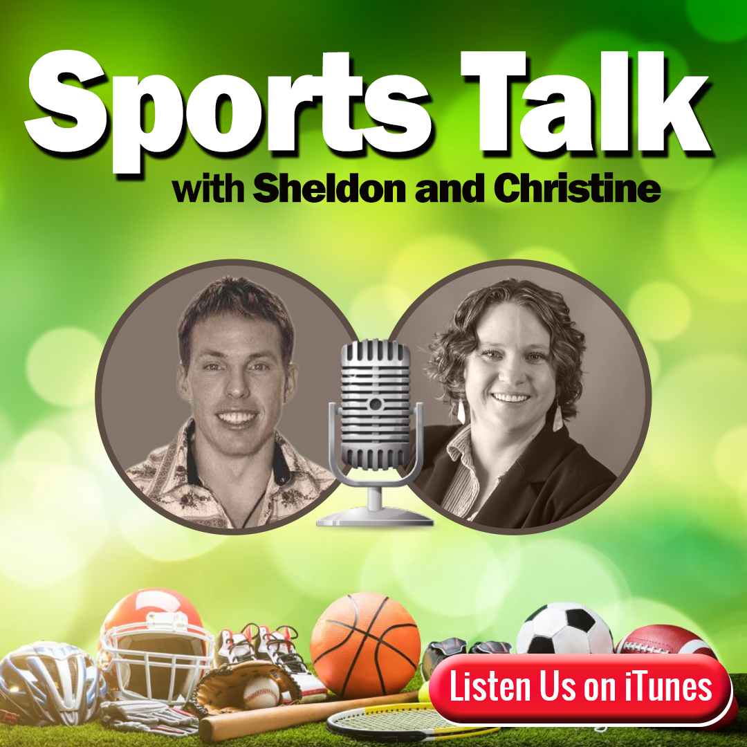 SIBLINGS SHELDON CLUFF AND CHRISTINE REIDHEAD PRODUCE INSPIRING SPORTS PODCAST 1