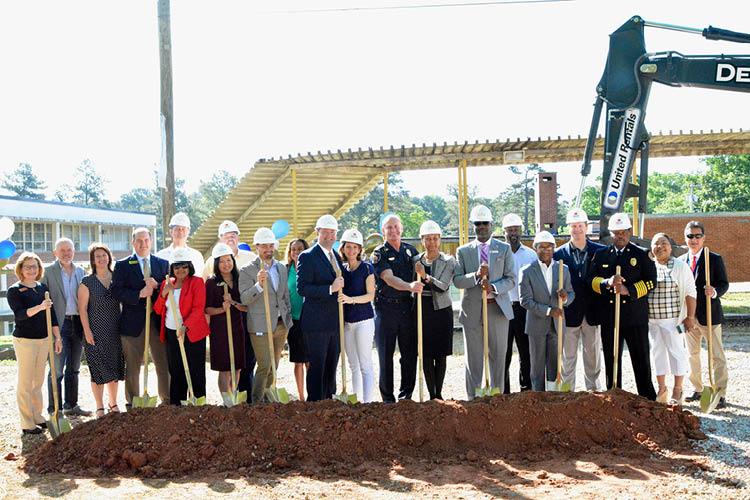 Landmark Celebrates Groundbreaking of New High School at Location of Formerly Segregated Elementary School 1