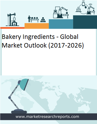 Global Bakery Ingredients Market is grow at a CAGR of 7.3% and expected to reach USD 23.96 Billion by 2026 from USD 12.71 Billion in 2017 1