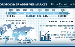 U.S. Fluoropolymer Coating Additives Market in Fluorinated Ethylene Propylene (FEP) Expected to Record Gains of About 6.5% by 2025 5