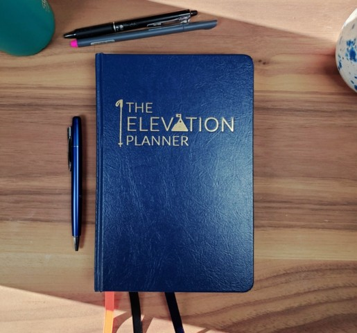 The Elevation Planner, strategically designed to elevate one's personal, and professional life. 1