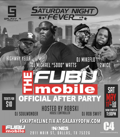 FUBU Expands Its Brand Offering with Launch of FUBU Mobile DFW Celebrations Include Star-studded Gala and After Party 2