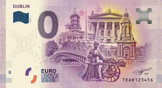 Euro Note Souvenir Releases Three New Zero-Euro Notes in June 2019 4