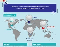 Amniotic Membrane Market Will See a Huge Impact on Growth, Share and Size with 12.16% CAGR Forecast & Foreseen by 2023 5
