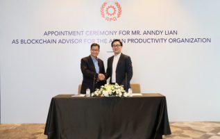 Mr. Anndy Lian Appointed as Blockchain Advisor to Asian Productivity Organization (APO) 2