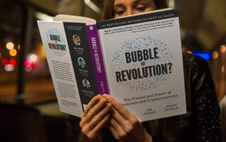 Bubble or Revolution Becomes #1 Bestselling Blockchain Book on Amazon 2