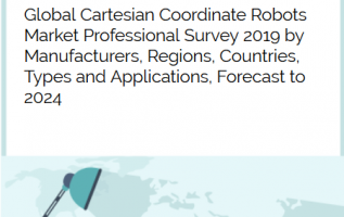 Global Cartesian Coordinate Robots market is growing at a CAGR of 20.36% and expected to reach USD 603.04 Million by 2024 from USD 198.36 Million in 2018 5