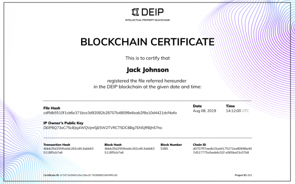 Redefining IP protection: DEIP Intellectual Property Blockchain 3