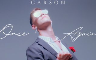 "Queer Synth-Pop CARSON Presents ""Once Again"" 4"