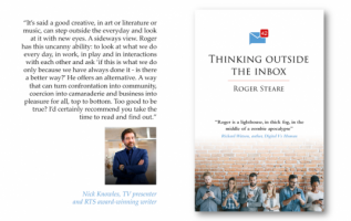 Thinking Outside the Inbox on Kickstarter pushes readers to look beyond their busy lifestyles 4