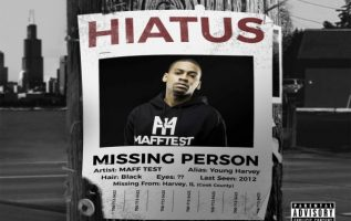 Missing Rapper posters and stickers have been posted up from California back to IL spark controversy 4