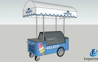 Exportimes Announces Energy Efficient & Convenient Ice Cream Carts for Selling & Delivery of Ice Creams 3