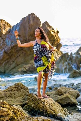 The O Factors' Jennelle Gordon, Debuts Online Dance Om Yoga Boot Camp 1