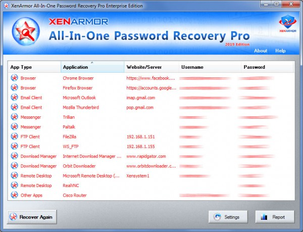 XenArmor Releases New All-In-One App to Recover Passwords 2