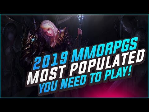 MMOByte Releases The List of 10 Most Populated MMORPGs in 2019 1